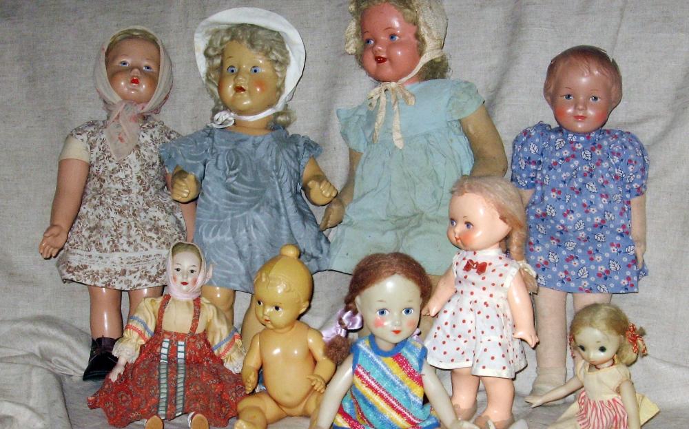 В Твери проходит выставка кукол советской эпохи