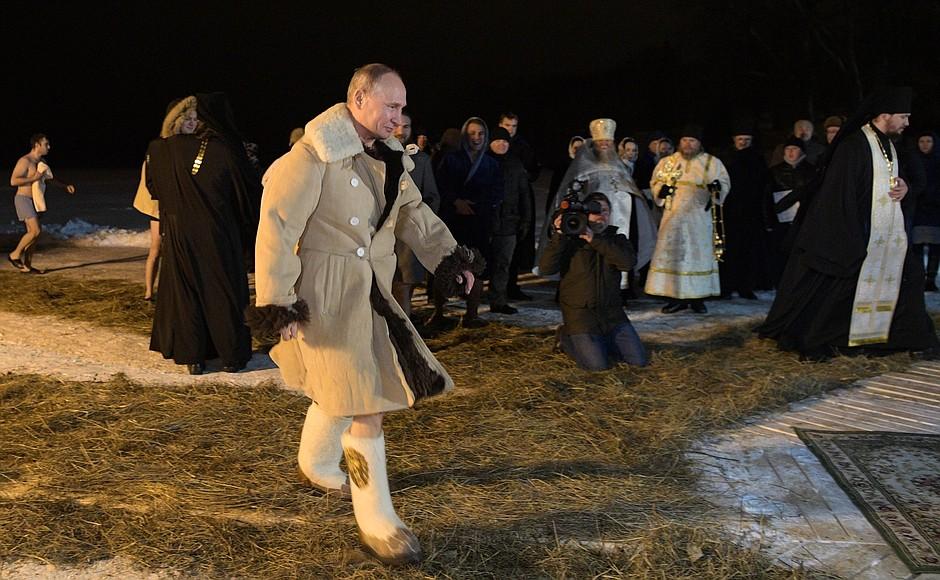 Владимир Путин вновь посетил Тверскую область