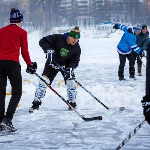 """фото Ежегодный турнир """"Хоккей на Волге"""" показал, кто сильнее в дворовом хоккее"""