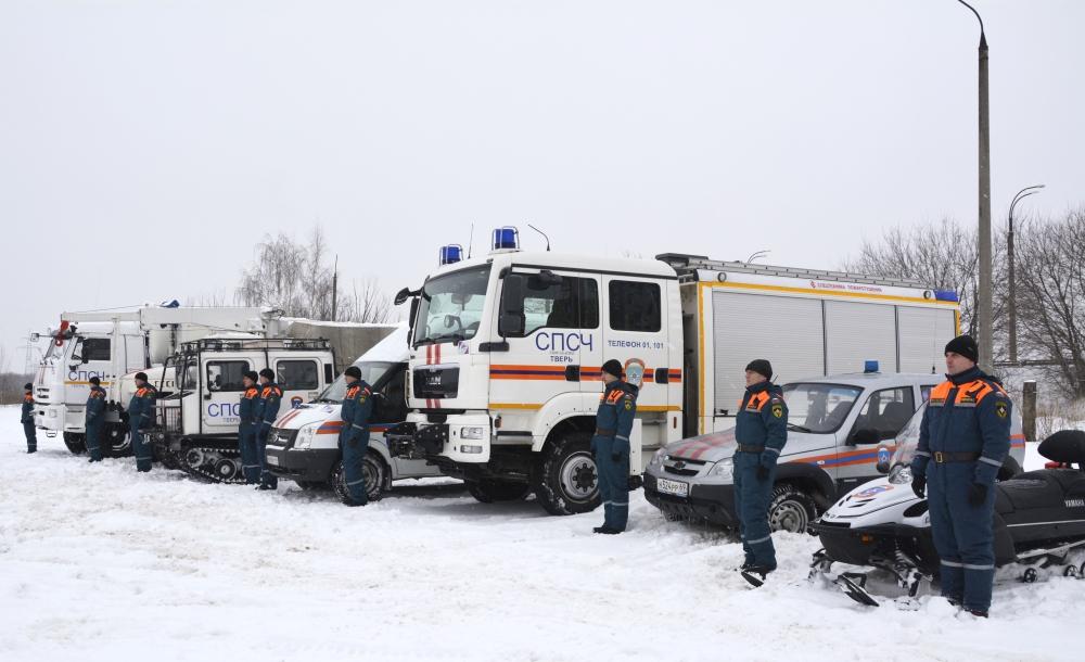 В связи с ухудшением погодных условий все региональные подразделения МЧС России функционируют в режиме «Повышенная готовность»