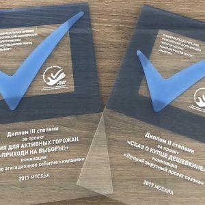 фото Несколько проектов тверского холдинга стали лауреатам престижной премии Российской ассоциации политических консультантов