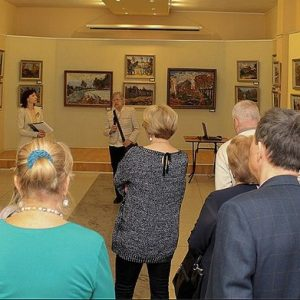 фото В Твери проходит выставка живописи к 80-летию художника Виктора Усачева