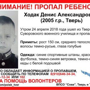 фото В Твери полиция и волонтеры разыскивают пропавшего ребенка [Найден, жив]