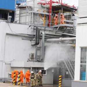фото В Подмосковье ликвидирован пожар на заводе «Фронери Рус»