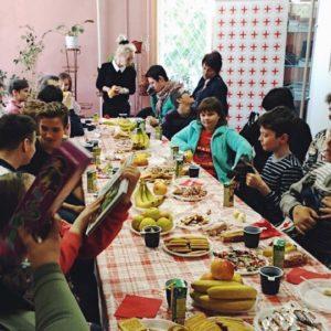 фото Тверское отделение Красного Креста организовало праздник для особенных детей
