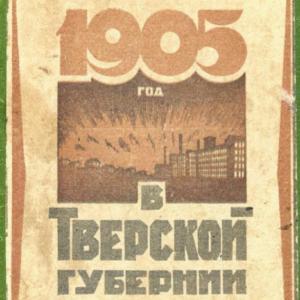 скачать книгу 1905 год в Тверской губернии