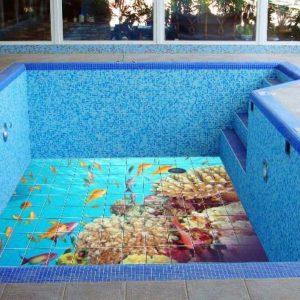 фото Как правильно уложить плитку для бассейна