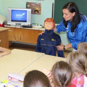 фото Сотрудники Тверьэнерго продолжают обучать детей электробезопасности