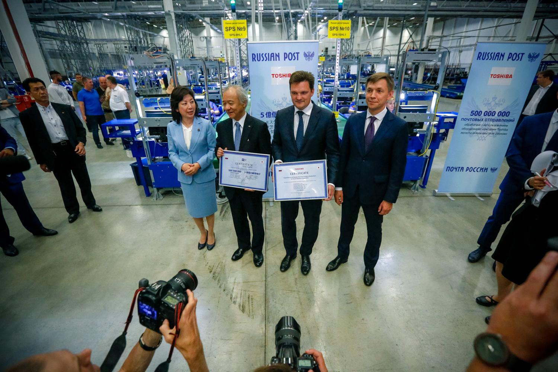 Логистический центр Почты России во Внуково выведен на полную мощность