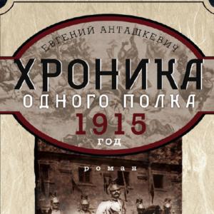 скачать книгу Хроника одного полка. 1915 год