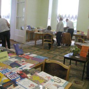 фото В Тверской библиотеке им.Горького проходит выставка новых поступлений книг