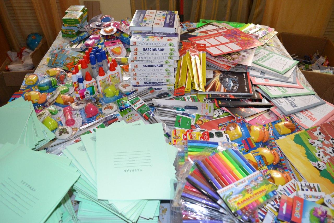 В Твери собрали 14 тыс. подарков к школе для нуждающихся детей