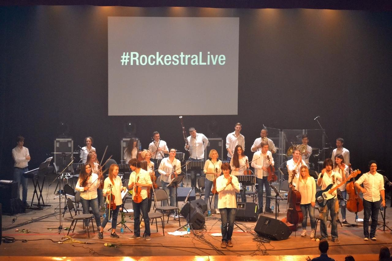 Let's symphonic rock!