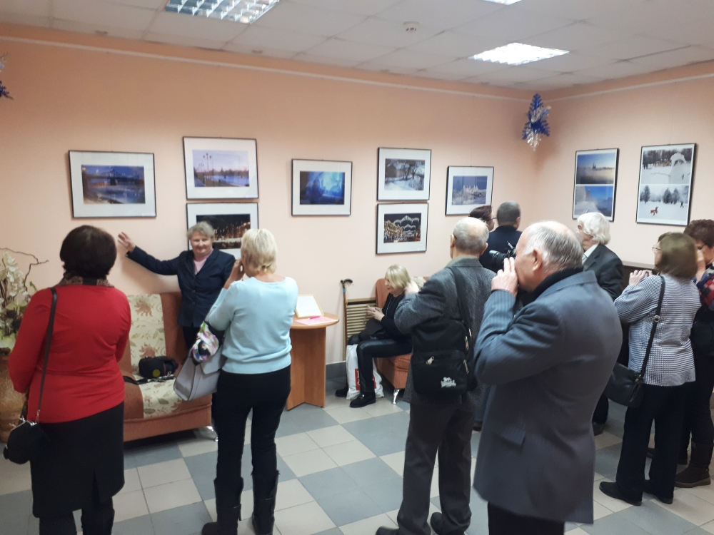 """В Герценке открылась фотовыставка """"Новогодний калейдоскоп"""""""