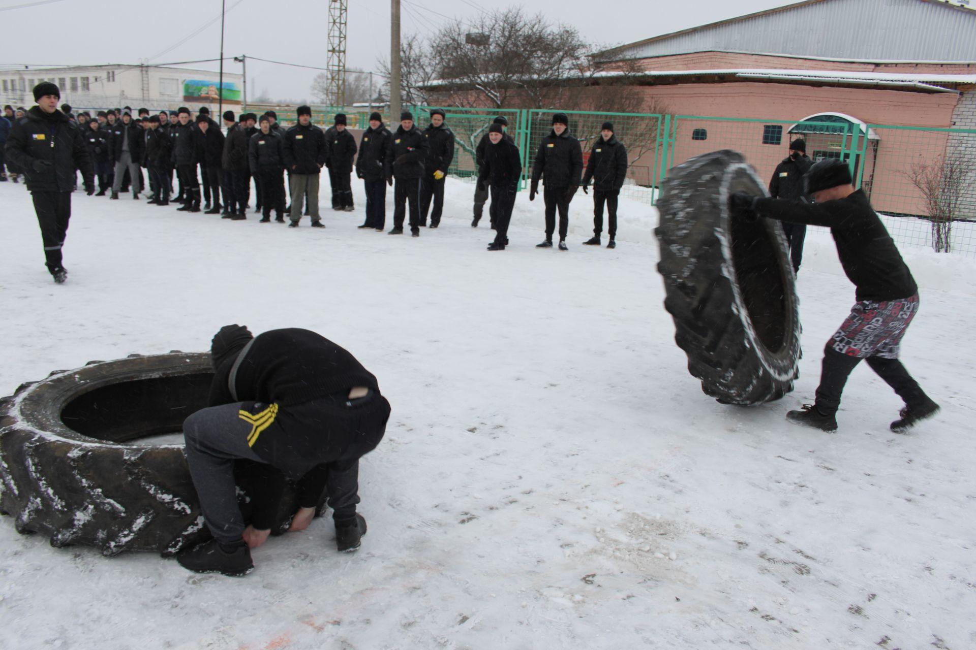 В ФКУ ИК-1 г. Твери прошли состязания по CROSS-FIT