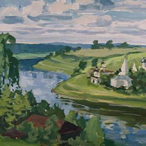 """фото В Твери пройдет выставка картин художника Геннадия Ореликова """"Мой берег"""""""