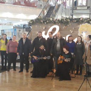 фото В Твери прошёл первый православный флэшмоб