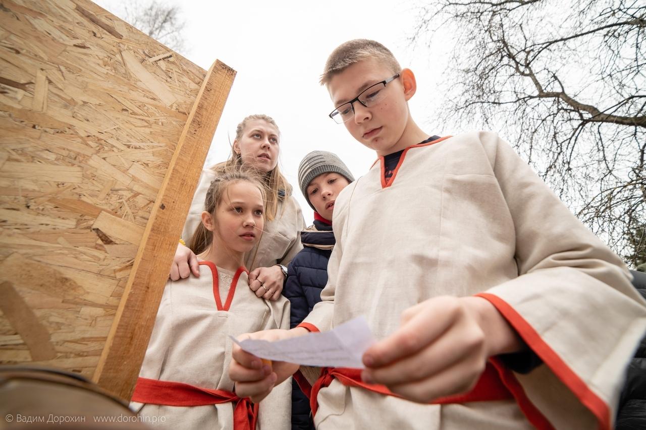 В Твери для воспитанников интернатов провели исторический квест «Владимир Красно солнышко»