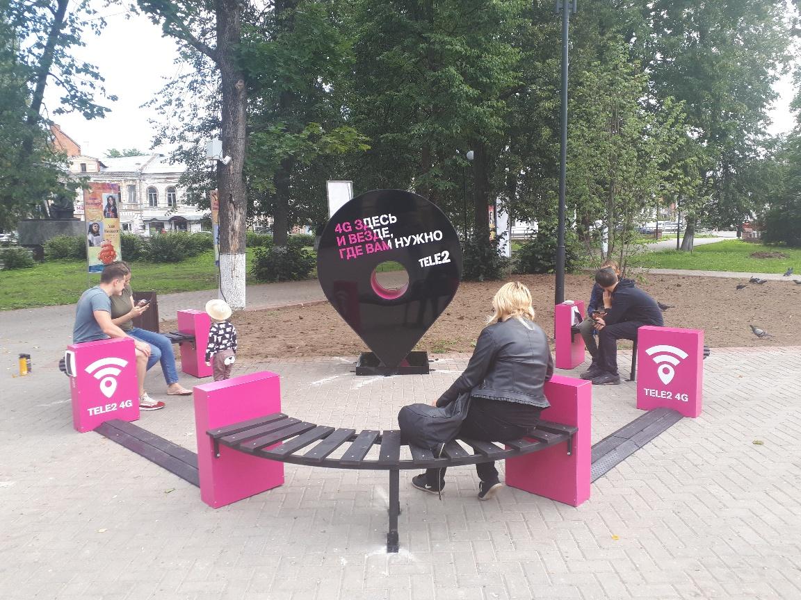 Новые арт-площадки украсили парки Твери и Вышнего Волочка