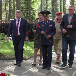 фото В канун окончания 2-й Мировой войны на территории мемориального комплекса Медное встретились тверские и польские школьники