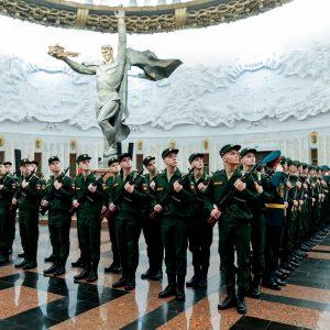 фото В преддверии Нового года новобранцы из Тверской области стали солдатами легендарного Преображенского полка