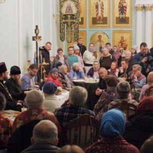 фото В Твери продолжается цикл открытых встреч с митрополитом