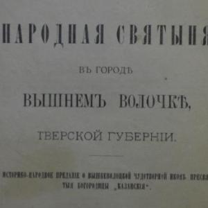 скачать книгу Народная святыня в городе Вышнем Волочке