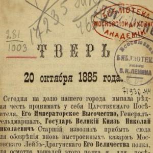 скачать книгу Тверь 20 октября 1885 года