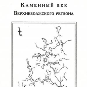 скачать книгу Каменный век Верхневолжского региона