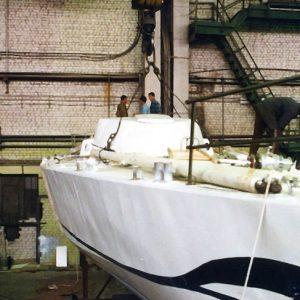"""фото 24 года назад в первую кругосветку отправилась знаменитая яхта """"Апостол Андрей"""", собранная в Твери"""