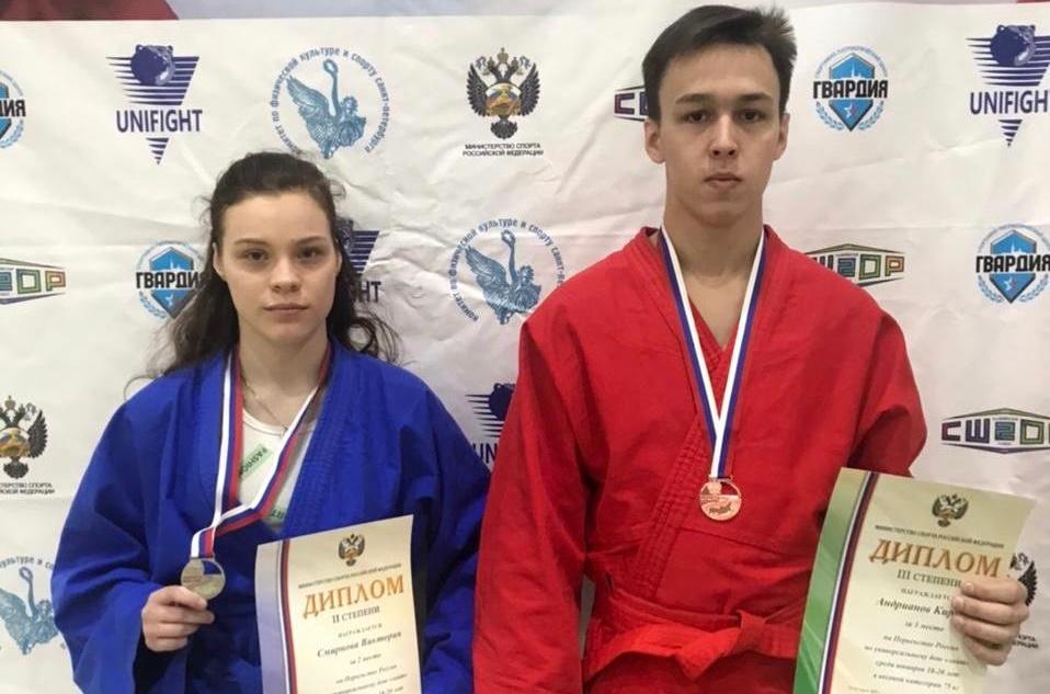 Спортсмены из Твери успешно выступили на Первенстве России по универсальному бою