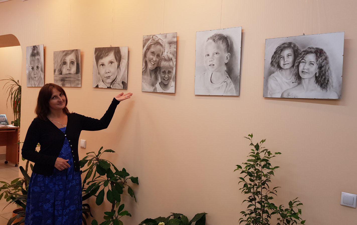 """В Твери открылась выставка """"Неоконченный портрет"""""""