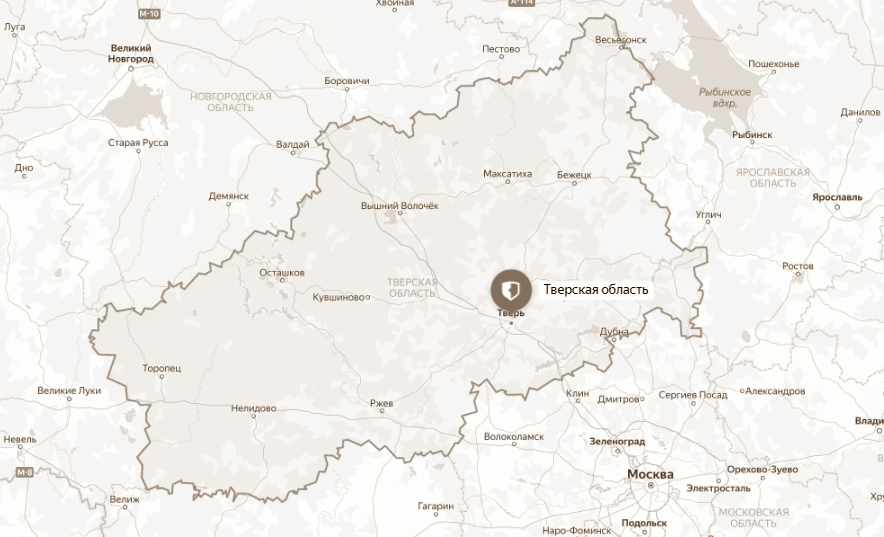 С 67% от общего числа ортофотопланов территории Тверской области снят гриф «секретно»